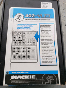4 channel compact mixer mackie