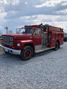 1986 Ford F700 Fire Truck - Highest Bidder