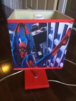 Table lamp - spider man !!!