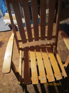 Collapsible Wooden Rocking Chair for SALE