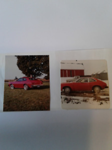 Looking for Red 1979 Ford Pinto with 4 speed transmission.