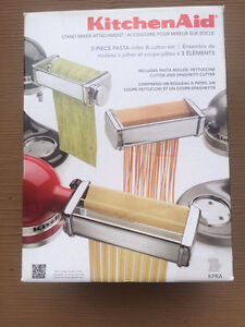 Kitchenaid pasta rollers