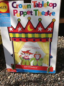 Alex Crown Tabletop Puppet Theatre