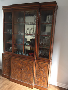 Drexel Heritage Handcrafted China Cabinet