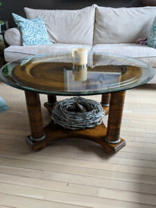 Solid Ashley Coffee Table - Round