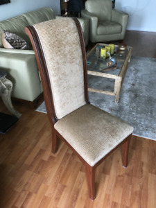 Custom Dining Room Highback Chairs (set of 4)
