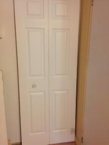Porte pliante 30po