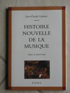 Histoire nouvelle de la musique, Jean-Claude Lalanne
