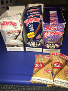 RARE Backwoods vanilla, grape, Russian cream