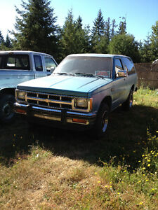 1986 Chevrolet Blazer S10 base Wagon