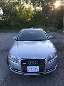 2006 Audi A4 2.0 Turbo 6 speed Manual. Quattro AWD. Leather