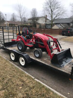 Compact Tractor and Operator for Hire