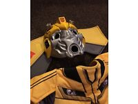 Halloween fancy dress costume bumble bee transformers