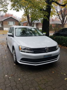 2017 VW Jetta 1.4L TSI - Automatic, Metallic white