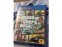 Grand theft auto V for Play Stations 4