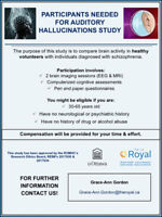 Participants Need for Auditory Hallucinations Study