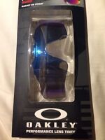 Oakley Radar EV path sapphire iridium lens sunglasses eyewear
