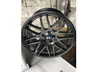 BMW m3 csl e46 e90 335d m sport alloys Christmas offer!! Tyres alloys 5120 bmw