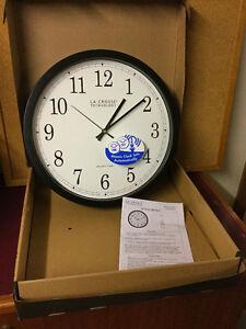 New La Crosse Technology 14-Inch Atomic Wall Clock