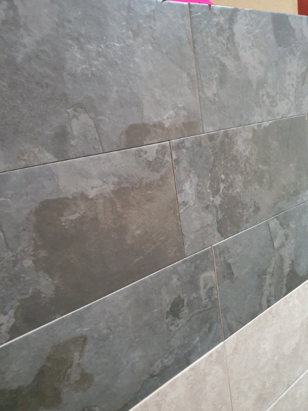 Grey Slate Effect Tiles Ex B Q Stock Clearance In Salford Manchester Gumtree