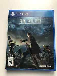 FS: PS4 Final Fantasy XV (Opened, but Mint)