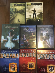 DVDs and Seasons of Shows