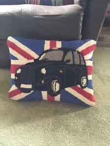 British Car Cushion