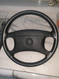 BMW E34 steering wheel