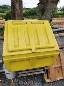 Salt box/ outdoor storage