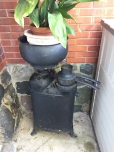 vintage cast iron milk separater