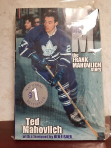 The Big M The Frank Mahovlich Story - Autographed Book