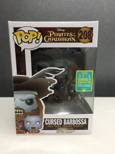 Funko Pop Pirates of the Carribean Cursed Barbossa FS/FT