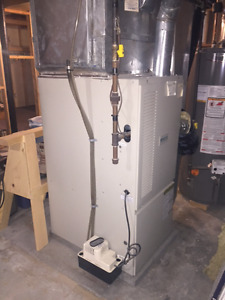 UPDATE Gas Furnace and Central A/C Air