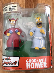 The Simpsons - Good & Evil Homer by McFarlane 2007