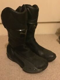 Puma Motorcycle boots SIZE 9