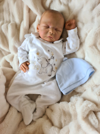 Reborn baby boy doll
