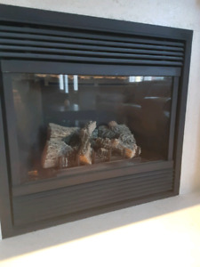 Gas Fireplace including mantle