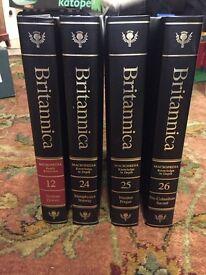 Britannica encyclopaedia 1986 36 volumes