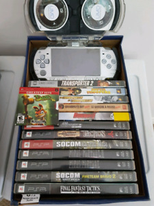 PSP slim with games