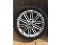 BMW 1 SERIES M SPORT ALLOYS + TYRES