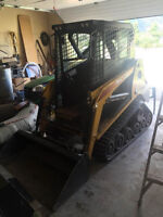 Small bobcat for hire
