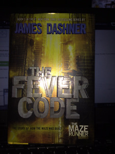 Hardcover Great Condition The Fever Code by James Dashner
