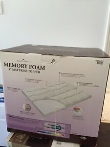 Memory foam mattress topper for sales