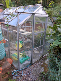 Greenhouse , table and heater