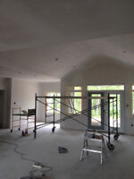 Professional Drywall Taping & Finishing