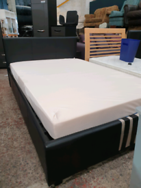 Ottoman bed with memory foam mattress . Delivery available