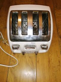 TEFAL 4 slice toaster FREE