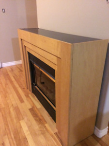Fireplace electric Vermont castings