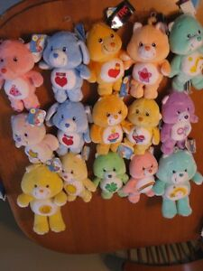 CARE BEARS 20TH ANNIVERSARY BEARS MINT WITH TAGS