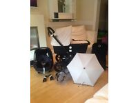 Bugaboo cameleon 3. Full package with pebble car seat. Exc con£600
